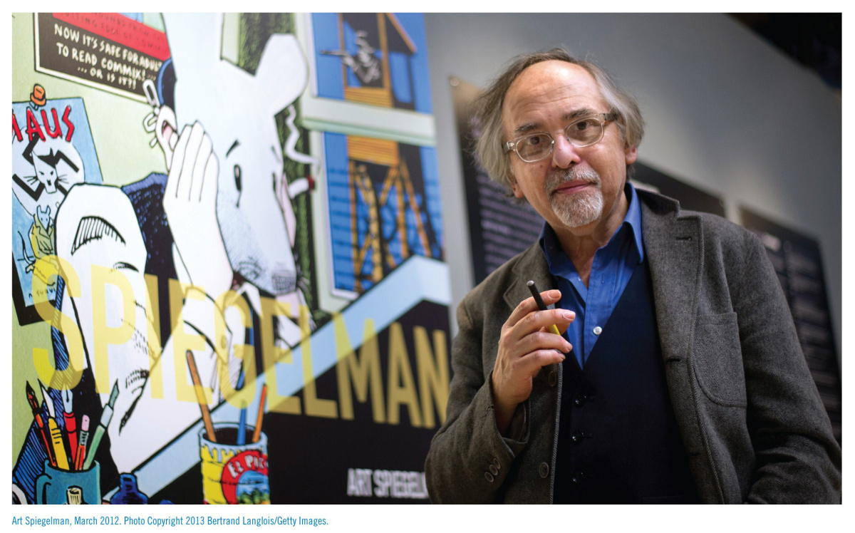 Subject: Art Spiegelman On 2013-05-06, at 10:26 AM, Kane, Laura wrote: Art Spiegelman will be at the Toronto Comics Arts Festival May 11 and 12 to promote his new retrospective book, Co-Mix: A Retrospective of Comics, Graphics and Scraps. PHOTO COURTESY DRAWN AND QUARTERLY  art-photo.jpg  backcover-comix.jpg  frontcover-comix.jpg