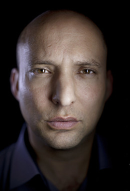 Naftali Bennett, head of the Jewish Home party, poses for a portrait at his office in the central Israel city of Petah Tikva, Thursday, Jan. 10, 2013.