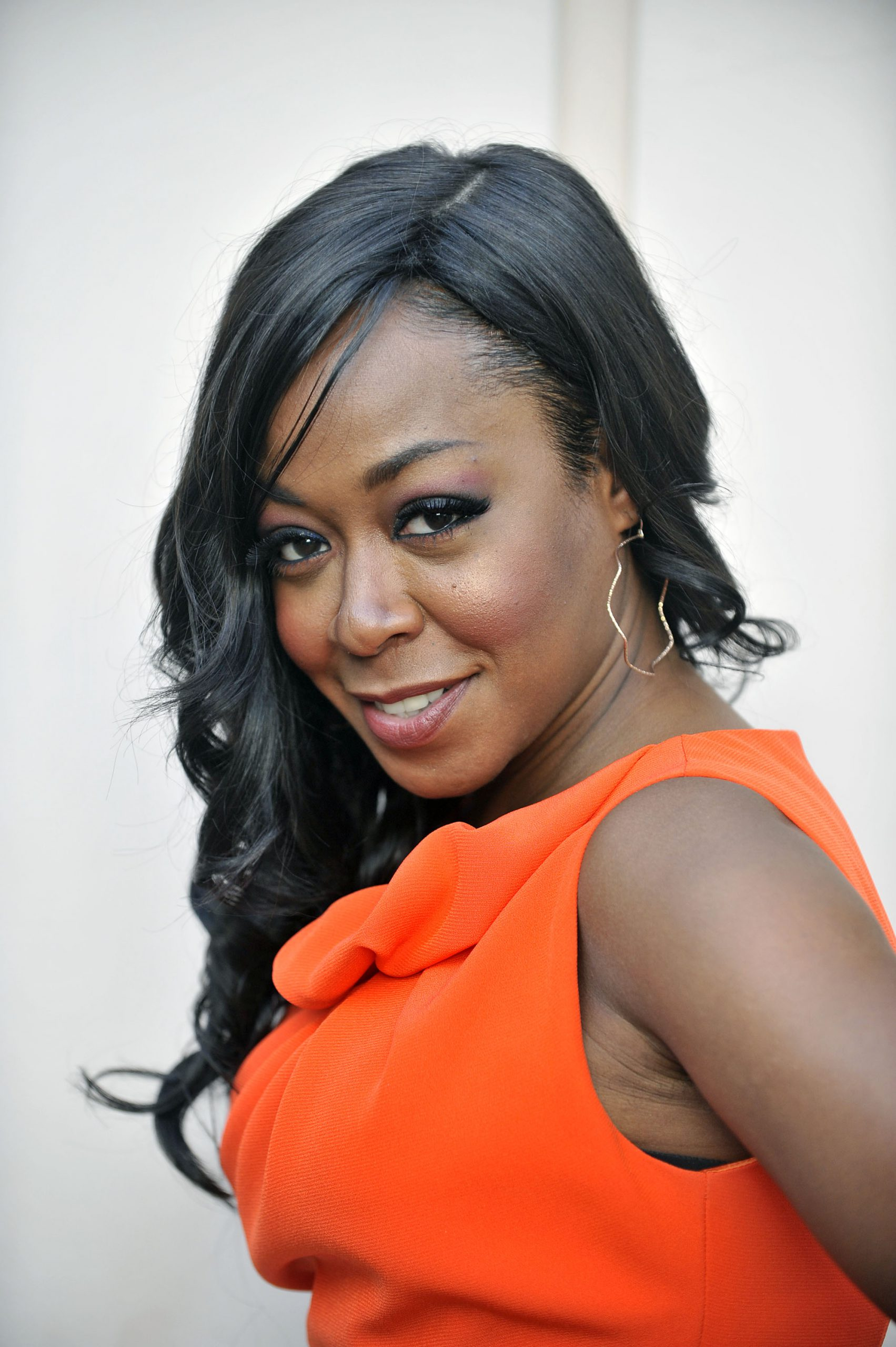 NORTH HOLLYWOOD, CA - MAY 10: Tichina Arnold arrives for an evening with Betty White held at Academy of Television Arts & Sciences on May 10, 2012 in North Hollywood, California. (Photo by Toby Canham/Getty Images)